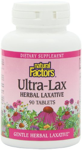 Natural Factors HerbalFactors Ultra Lax Laxative product image