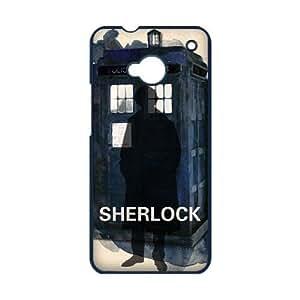 Perfect Arts Hot Movie Sherlock Holmes Unique Custom HTC ONE M7 Best Durable Plastic Cover Case