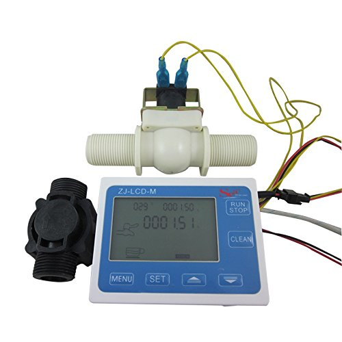 "DIGITEN G3/4"" Water Flow Control LCD Display+Flow Sensor ..."