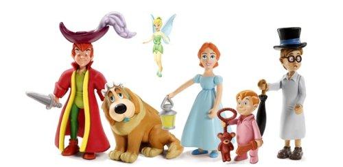 Ti'Toon Land Figurine, Disney, Peter Pan, Tinkerbell,