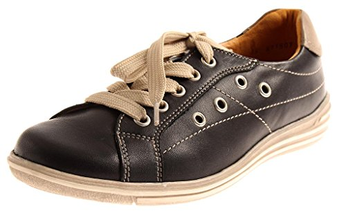 Sneakers Insoles ' Loose Honey Ladies Shoes Leather Theresia Shoes M m66804 Leather Black pqnA6