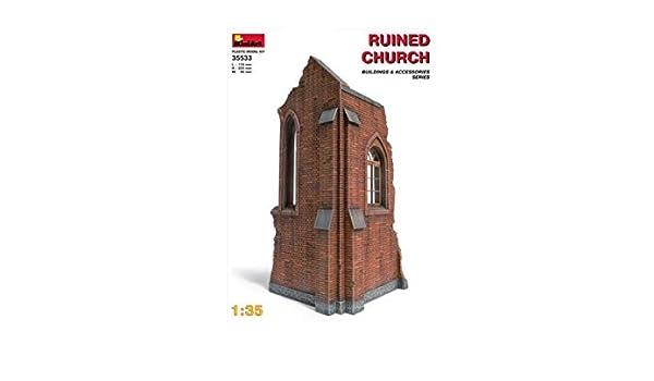 Church Ruin Kit 1:35 Miniart MIN35533