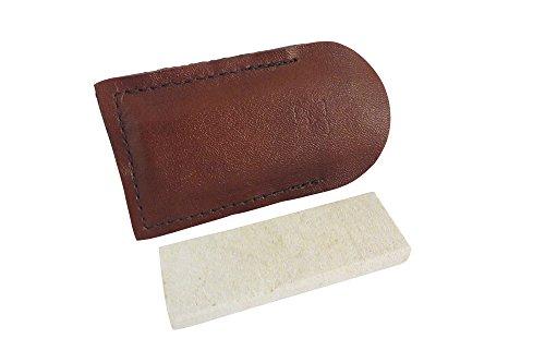 Combination Arkansas Stone (Natural Authentic Arkansas Hard (Fine) Pocket Knife Sharpening Stone Whetstone 3