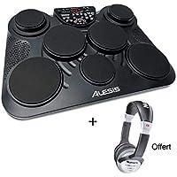 Pack Alesis COMPACTKIT-7 - batterie électronique de table + Casque Offert