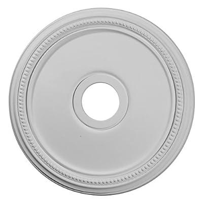 Ekena Millwork CM18DI 18-Inch OD x 3 5/8-Inch ID x 1 1/8-Inch Diane Ceiling Medallion by Ekena Millwork