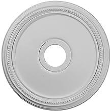 Ekena Millwork CM18DI 18-Inch OD x 3 5/8-Inch ID x 1 1/8-Inch Diane Ceiling Medallion