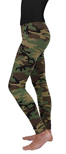 Woodland Camo Clothing - Rothco Women's Leggings, Woodland Camo, XX-Large