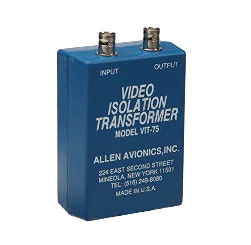 VIT-75 Single Channel Composite Video Isolation Transformer (8 Channel Isolation Transformer)