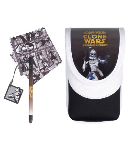 DSi and DS Lite Star Wars: The Clone Wars Game Sleeve Kit - Rex