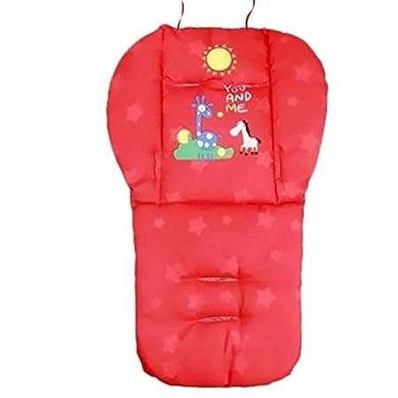 Natural Home universale per passeggino per bambini sedile Pad cotone cuscino auto cuscino blu Queta