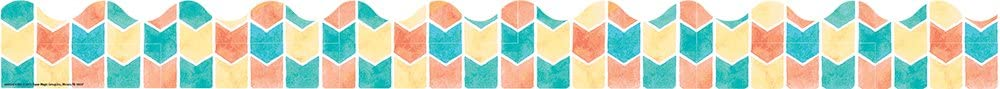 Eureka Confetti Splash Arrows Deco Trim Extra Wide Die Cut (845247)