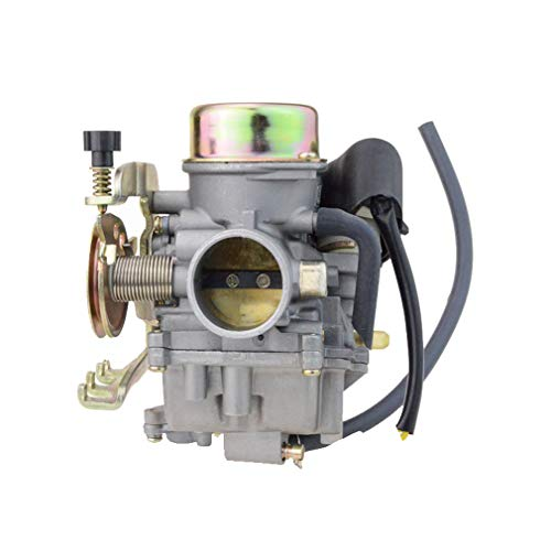 GOOFIT 30mm Carburetor w/heater for ATV UTV MANCO TALON Linhai Aeolus VOG Bigborn 260 300
