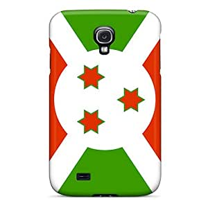 Hot RlV1804zumr Case Cover Protector For Galaxy S4- Burundi Flag