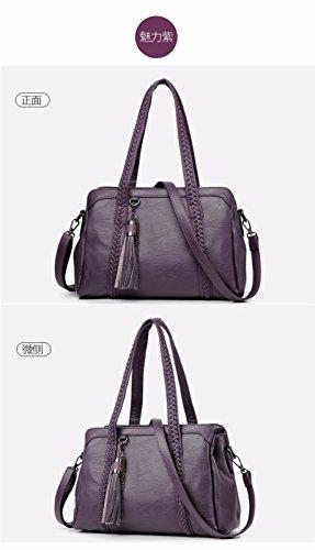 Nouveau Sacs Grande Loisirs Mode GQFGYYL des Sac Sacs Main de Mesdames 2018 à de marée capacité Gros violet Style 5xxIwqvBg