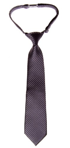 Various Textured Charcoal tied Pre Tie Stripe Black Retreez Woven Boy's Colors with qa7S7R8x