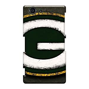 CristinaKlengenberg Sony Xperia Z3 Mini Shock Absorbent Cell-phone Hard Covers Allow Personal Design Stylish Green Bay Packers Series [OzZ9173mlBu]