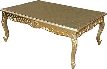 Casa Padrino Barock Couchtisch Gold Antik Look 120 X 80 Cm Mod2