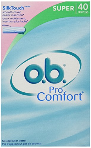 o.b. Pro Comfort Tampons - Super 40ct(Pack of 3) Comfort Plus Tampons