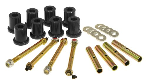 - Prothane 1-815-BL Black Greasable Rear Shackle Bushing Kit for CJ5, CJ7 and CJ8