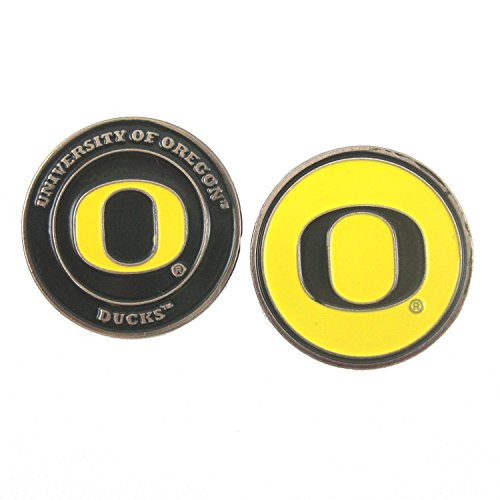 Oregon Ducks Double-Sided Golf Ball Marker (Stores In Eugene Or)