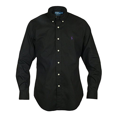 Polo Ralph Lauren -Custom Fit- Hemd schwarz