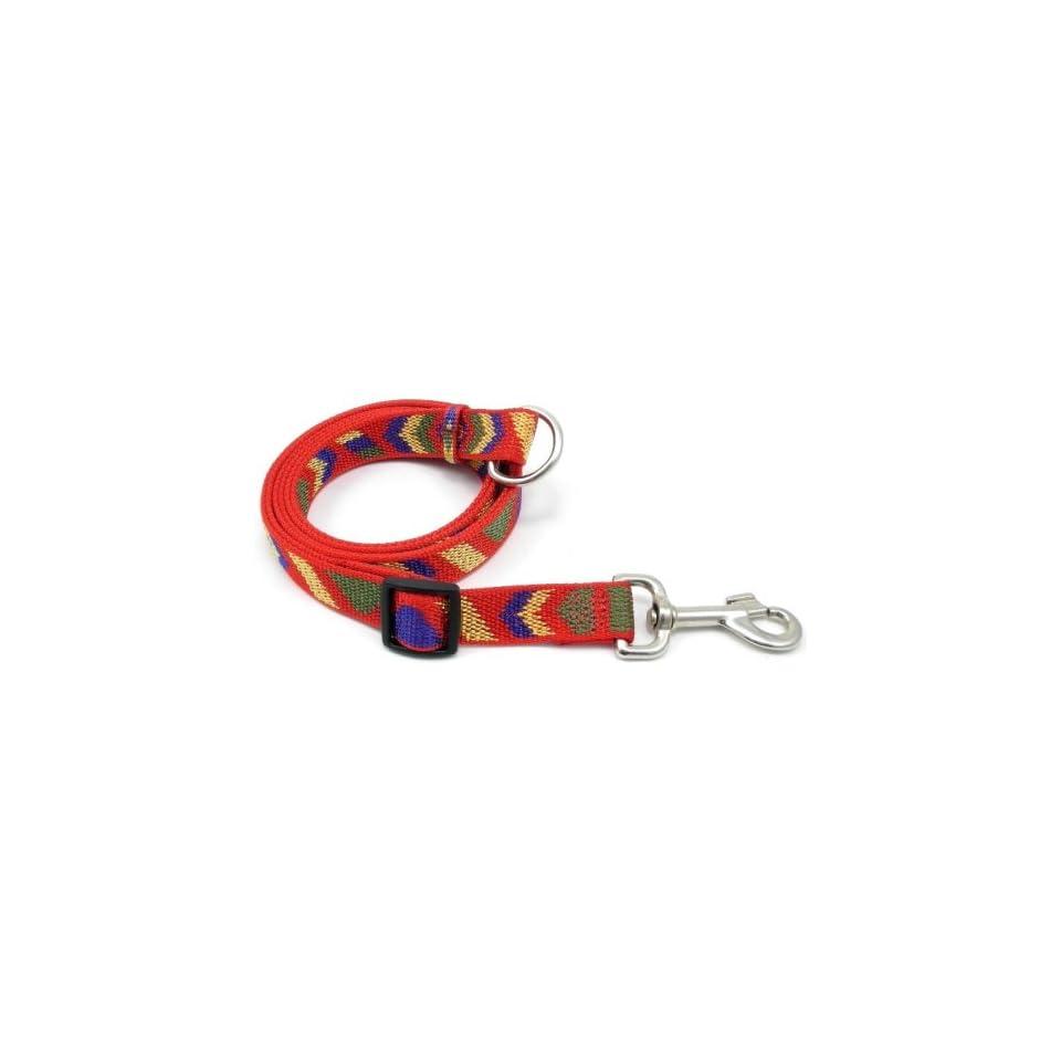 Adjustable Nylon Dog Lead, Red, 42 to 76