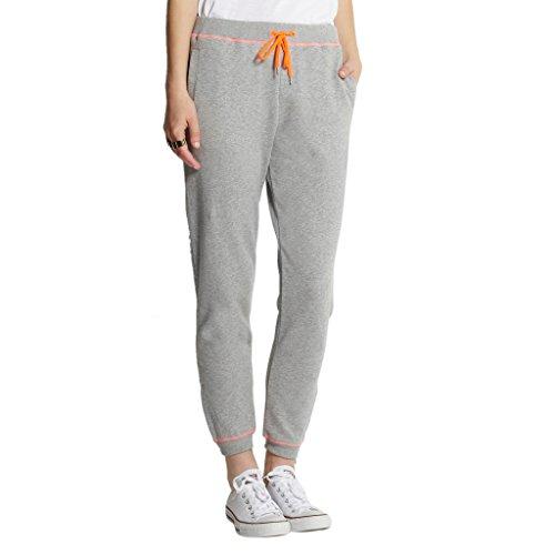 Diamond Candy Women's Fleece Elastic Band Jersey Pant