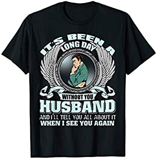 ⭐️⭐️⭐️ It's Been A Long Day Without You , Husband Need Funny Short/Long Sleeve Shirt/Hoodie