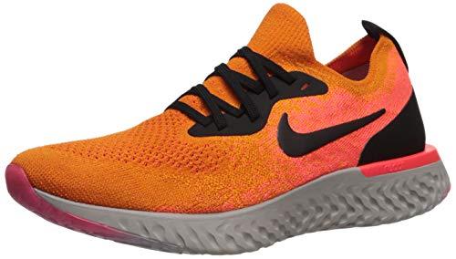 Nike Women's Epic React Flyknit Running Shoe (6.5) (Orange Nike Shoes Women)
