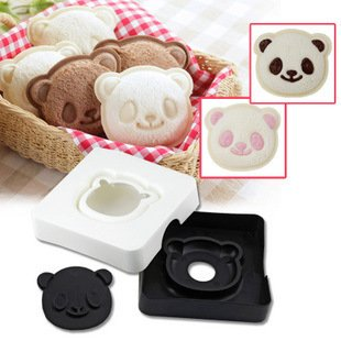 Sandwich Cutter Taidea Cute Panda Pocket Bread Cutter, Hand Tools Sandwich Kit, Food Deco, Sandwich Mold, Sandwich Maker, Toast Mold Mould, Cookie Stamp Kit #NA