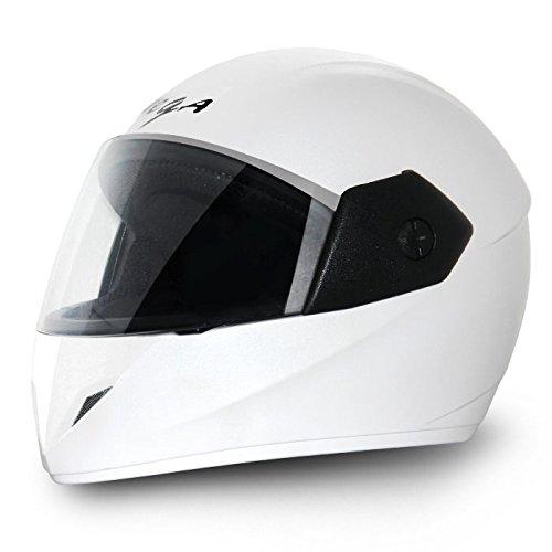 Vega Cliff Full Face Helmet (White, M)