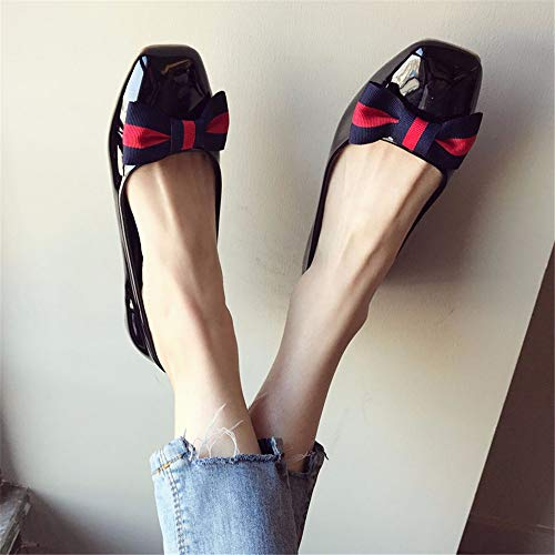 scarpe in da verniciata scarpe da singole Moda superficiale comode donna bocca FLYRCX EU 39 scarpe EU lavoro scarpe 36 antiscivolo pelle incinta casual vw8FxnOE