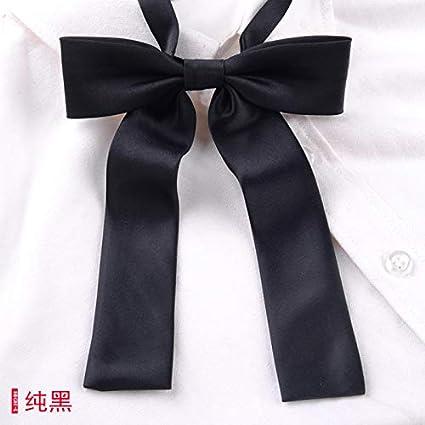 Cremallera corta uniforme de corbata a cuadros sin corbata casual ...