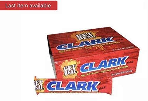 Milk Chocolate Clark Bars - 24 / Box - Clark Bar Candy Bar