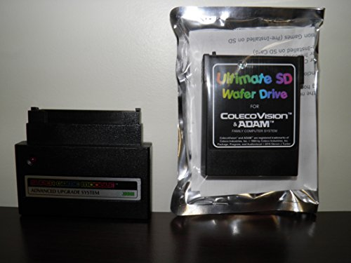 ColecoVision/ADAM Super Game Module with Ultimate SD Wafer Drive