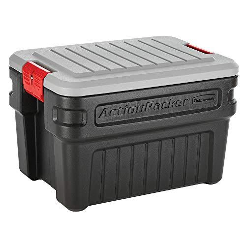 Amazon.com: Rubbermaid ActionPacker - Caja de almacenamiento ...