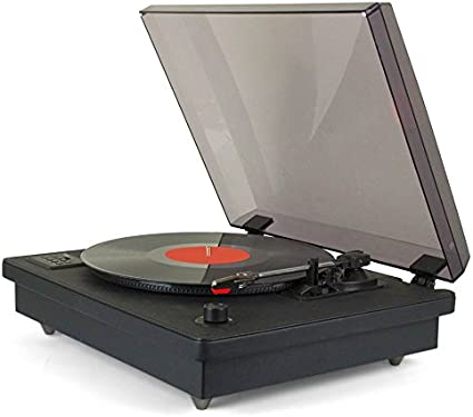 Amazon.com: Tyler – ttt603-bk Negro Record Jugador sistema ...