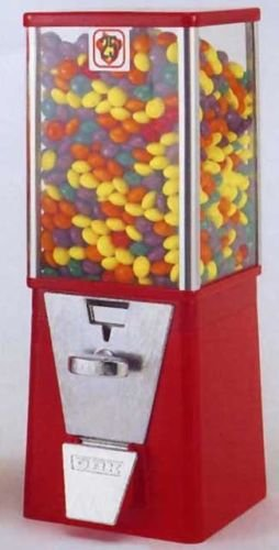 Oak Vista Cabinet Gumball Candy Capsule Bulk Vending for sale  Delivered anywhere in USA