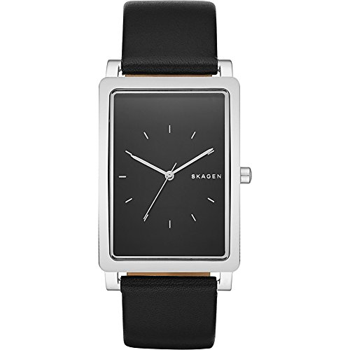 Skagen-Mens-SKW6287-Hagen-Black-Leather-Watch