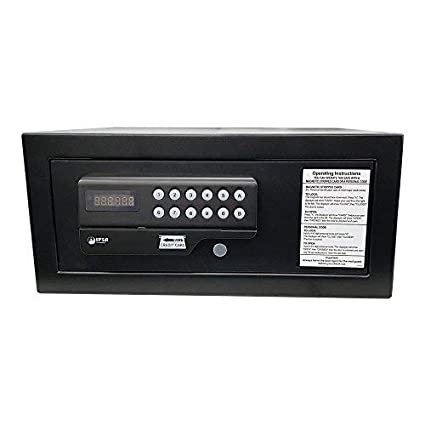 IPSA ES03 Credit Card Operated Digital Safes, Double Locking Steel Bolts, Rust Free Surface, Motorized Locking with Overriding Master Key