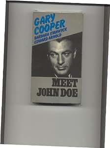 Amazon Com Meet John Doe Vhs Gary Cooper Barbara