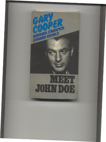 Meet John Doe [VHS]