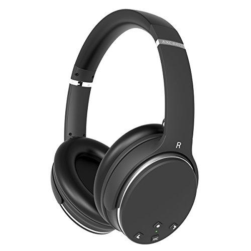 Active Noise Cancelling Wireless Headphones, Three...