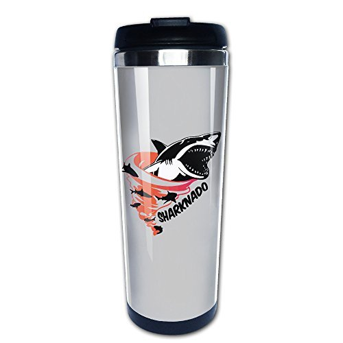 Sharknado Exercise Insulated Cupcoffee Bottle Vacuum Cup (Sharknado Fin)