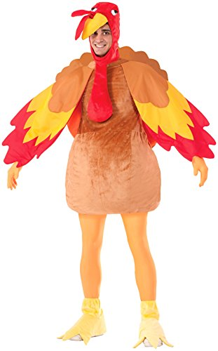 Forum Novelties Gobbles The Turkey Costume, Multi, Standard -