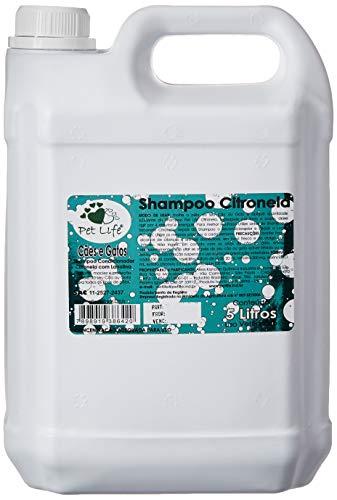 Shampoo Pet Life Citronela 5 Litros Pet Life para Cães