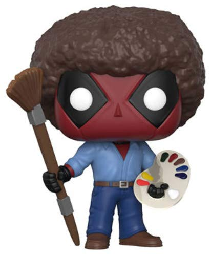 Funko POP! Marvel: Deadpool Playtime- Bob Ross (Best Starter Pokemon In Black And White 2)