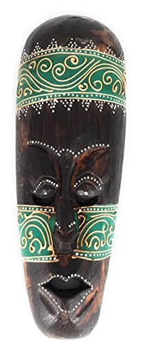 Tribal Tiki Mask 12