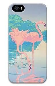 Cartoon Pink Birds Hard Case Cover iPhone 5S 5