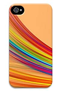 Colorful battens of pc black protection cover, suitable for Iphone 6 4.7 for kids